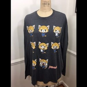 Aggretsuko Anime shirt